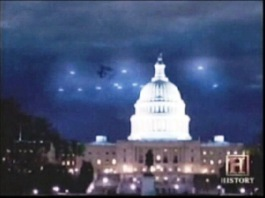 ufos over capitol builing