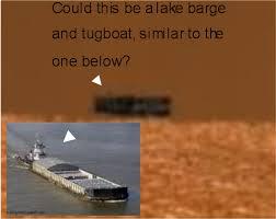 lake barge insert